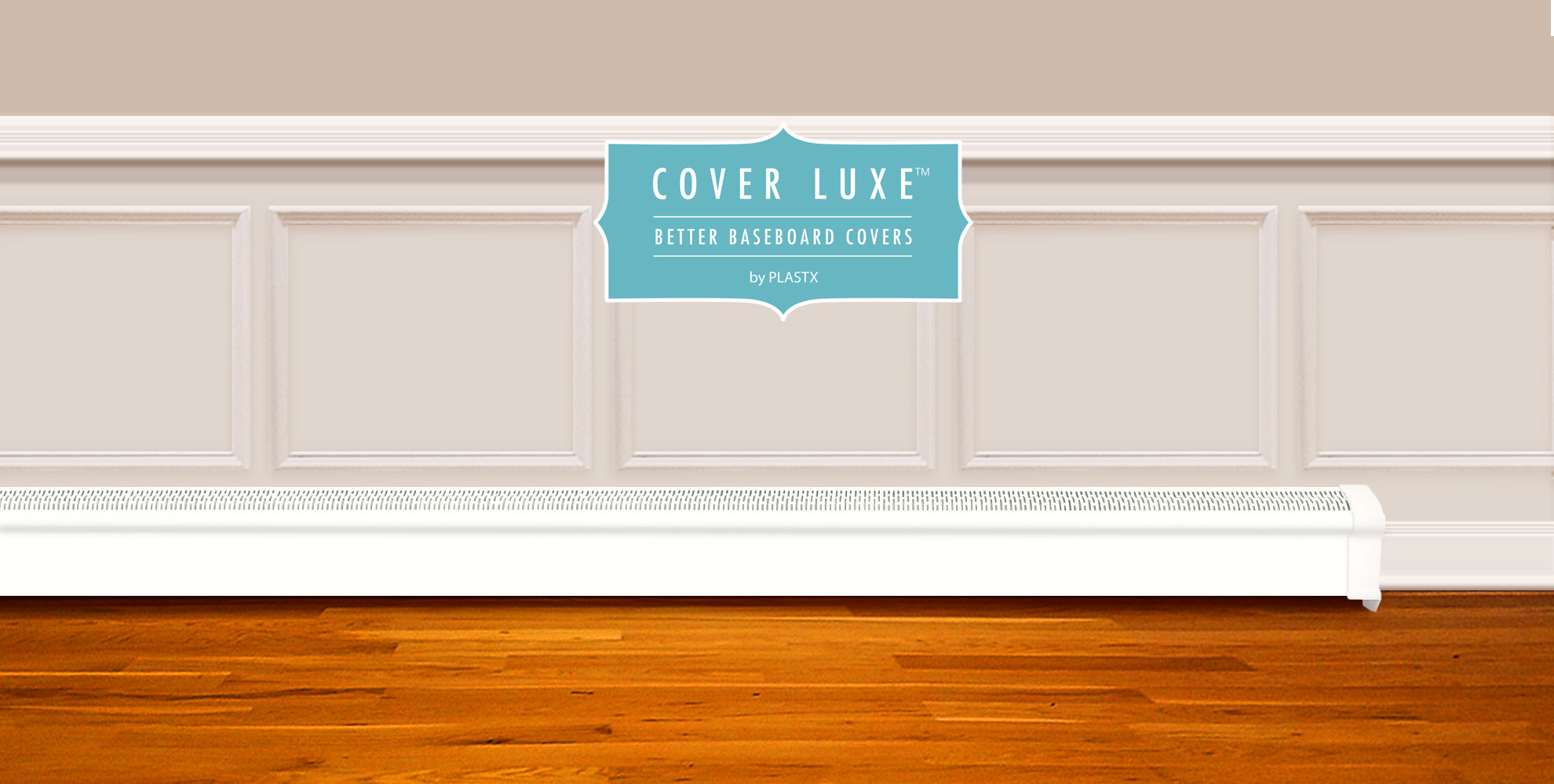 Cover Luxe The Better Baseboard Cover By Plastx